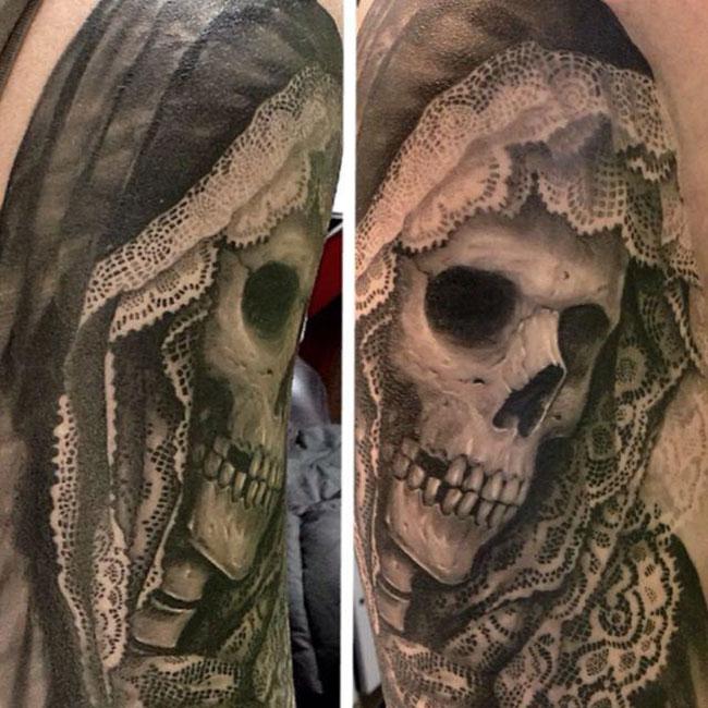 tatouage ultra réaliste