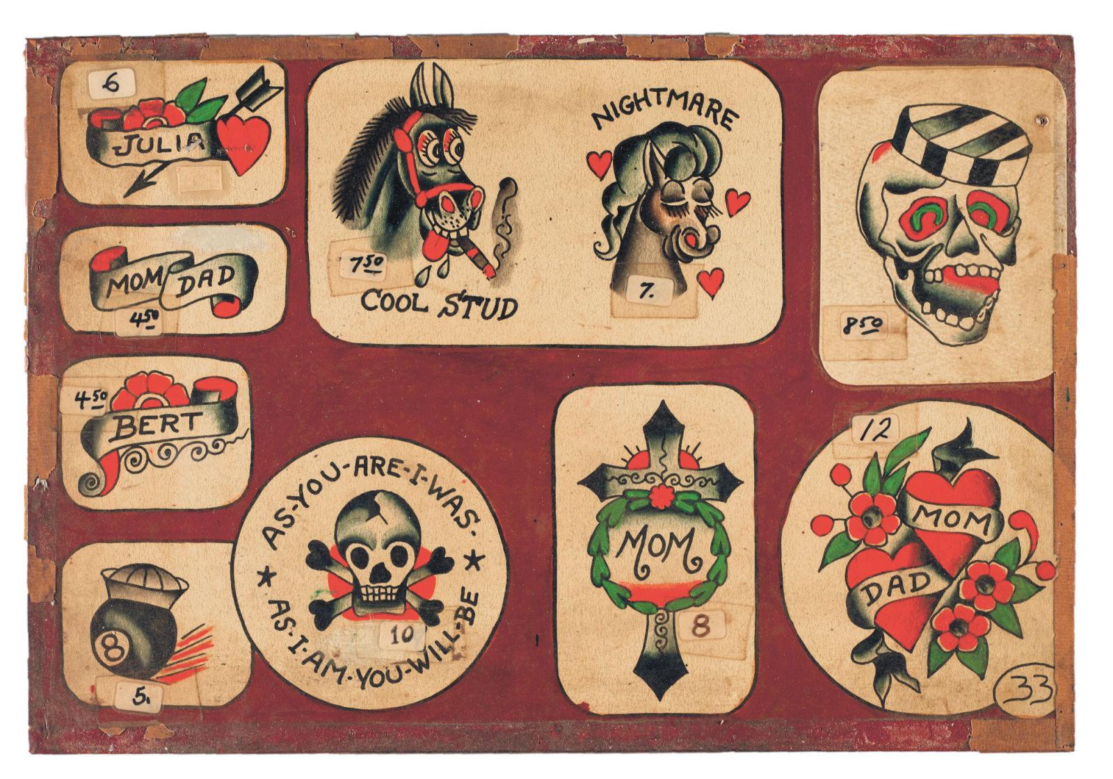 Connu Symboles du traditionnel américain – Inkage YX52
