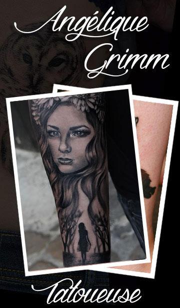 Angélique Grimm Tatoueuse
