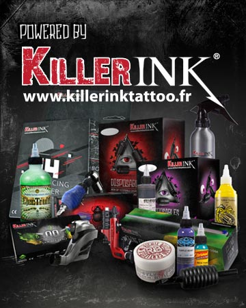 Killer ink boutique fourniture tatouage