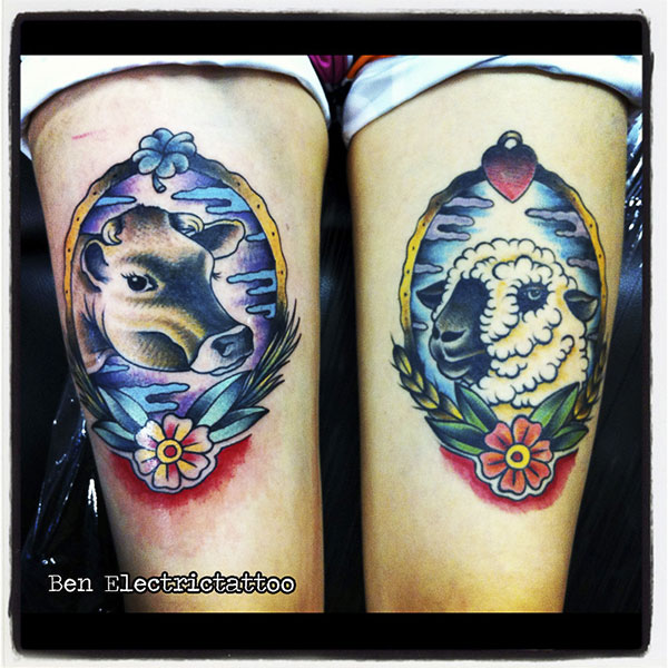 Rencontre avec ben electrictattoos inkage for Electric 13 tattoo