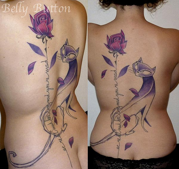 [Tatoueur] Belly Button - style graphique Tatouage-belly-button-5