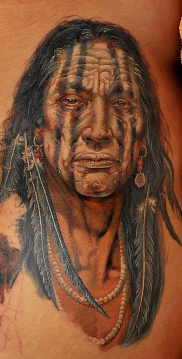 Tattoo D Un Chef Indien Inkage