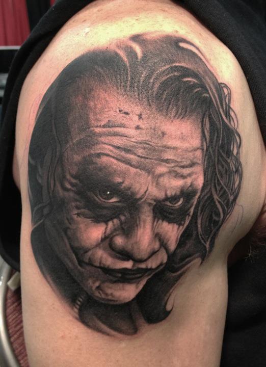 Tattoo Du Joker De Batman Inkage