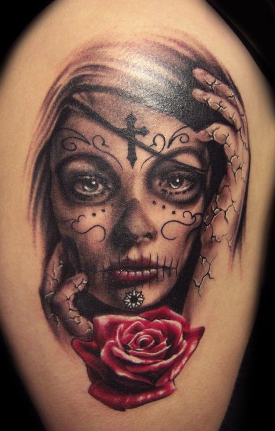 Tattoo santa muerte imagui - Tatouage larme signification ...