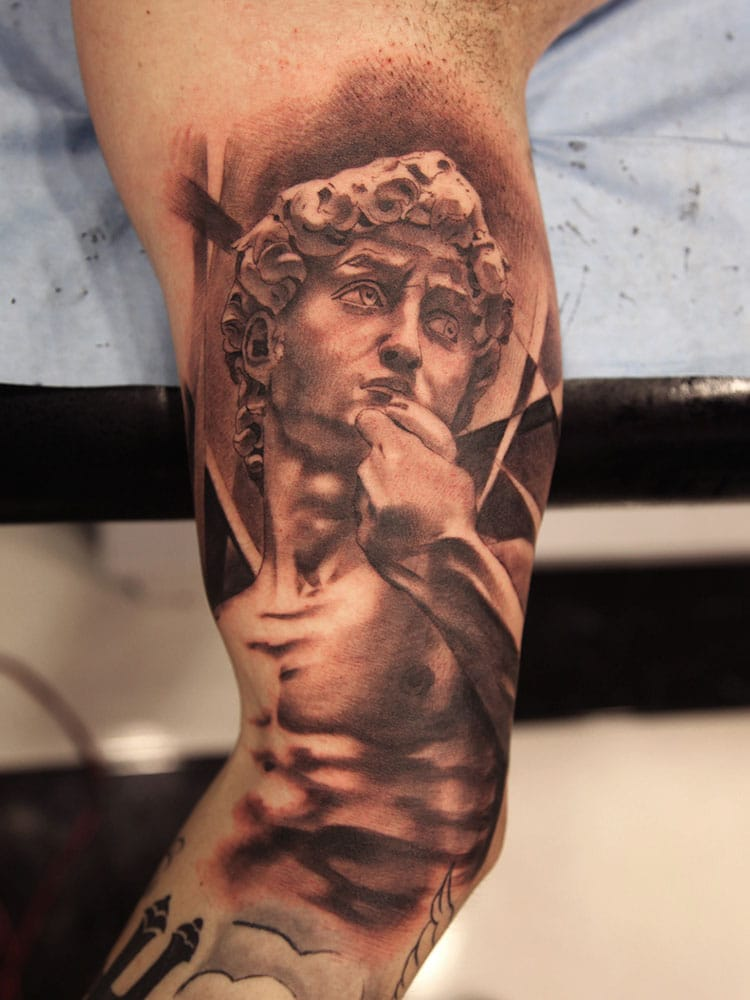 Statue Grec Inkage