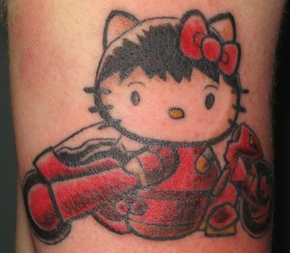 Tattoo dun hello kitty | | Inkage