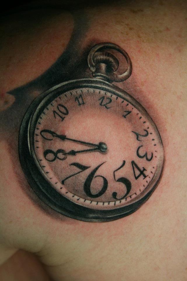 tatouage d une montre inkage. Black Bedroom Furniture Sets. Home Design Ideas