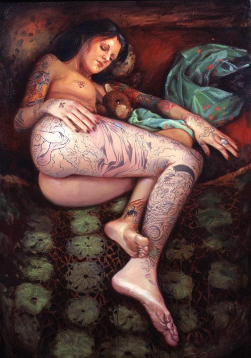 Shawn barber peinture tatouage (12)