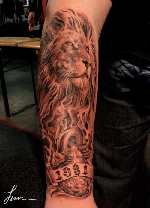 Premiere rencontre avec un homme lion