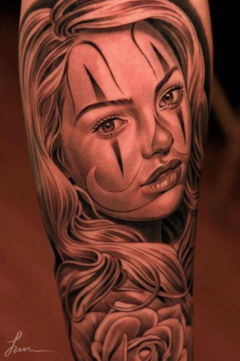 Tatouage de Katrina / santa muerte /catrina | Inkage Mexican Drawings Chola