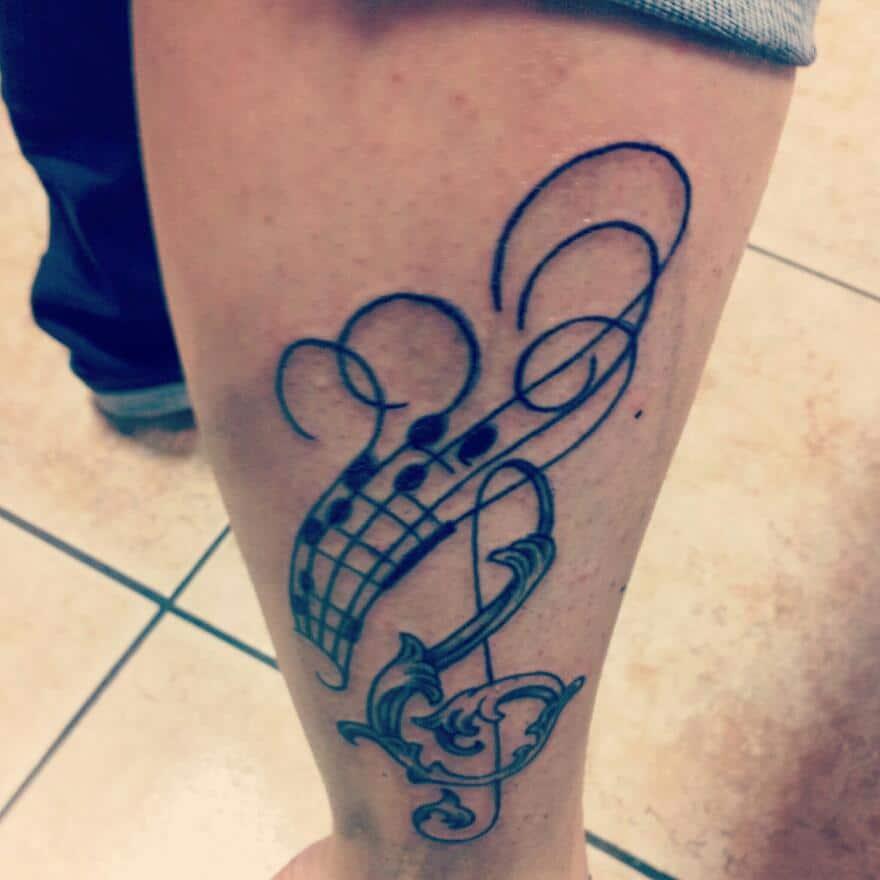 Beliebt Tatouage Musique – Inkage FP89