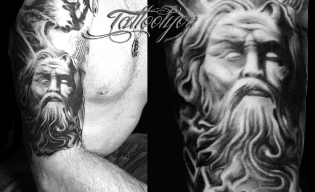Tatouage Zeus Tatouage
