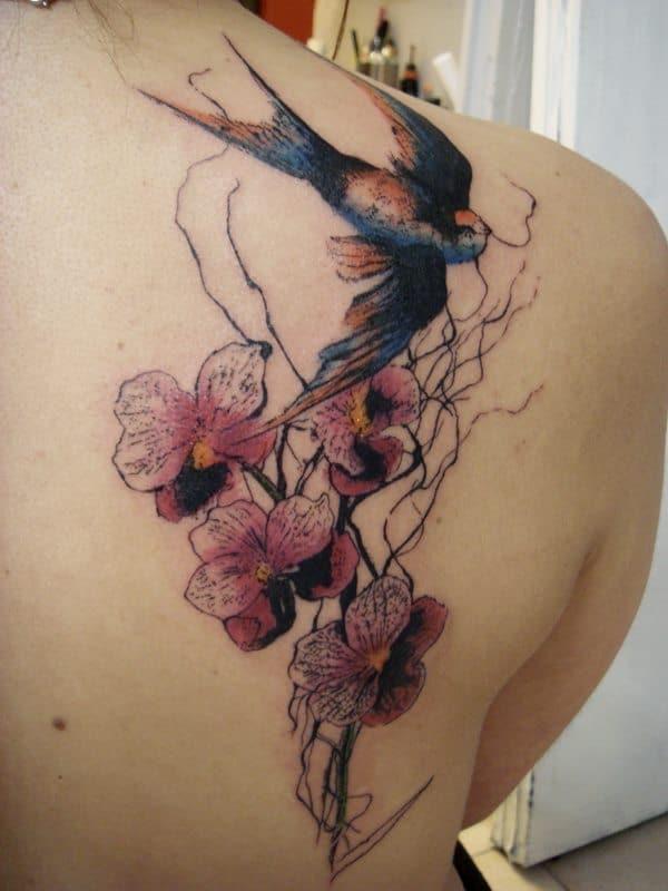 Fleur Oiseau Inkage