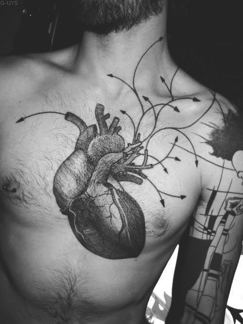 Tatouage Coeur Inkage