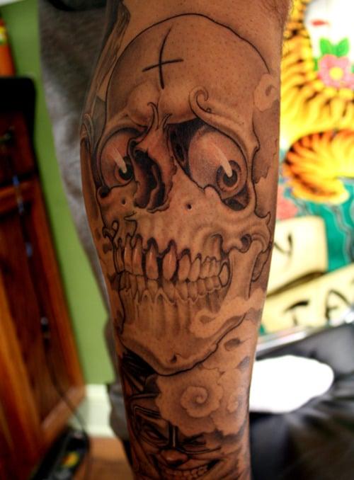 joker-tattoo-tribal