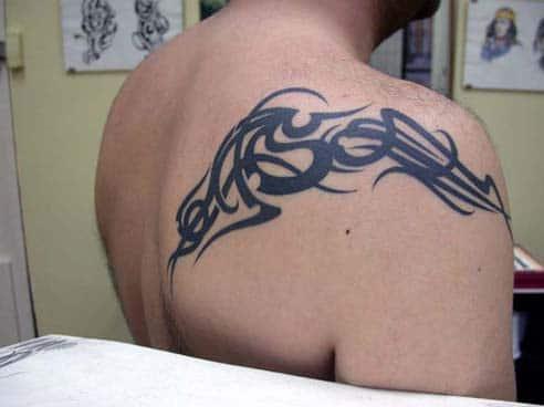 Tatouage Tribal Dans Le Dos Inkage