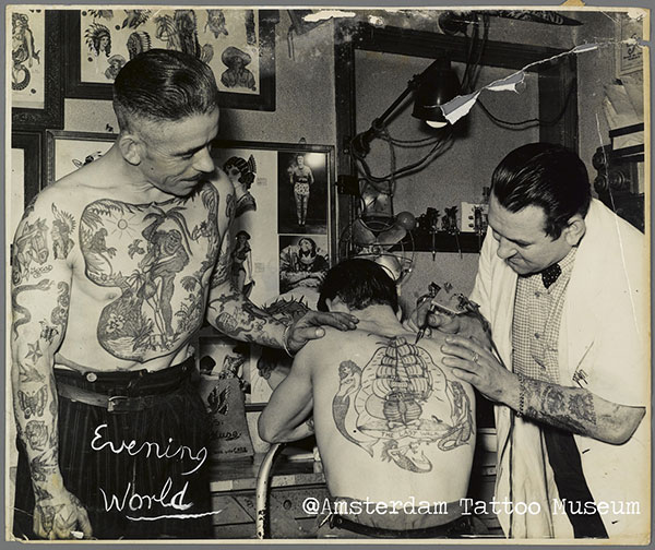 œuvre-Amsterdam Tattoo Museum (1)