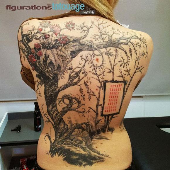tatouage réalisé par Loïc Malnati