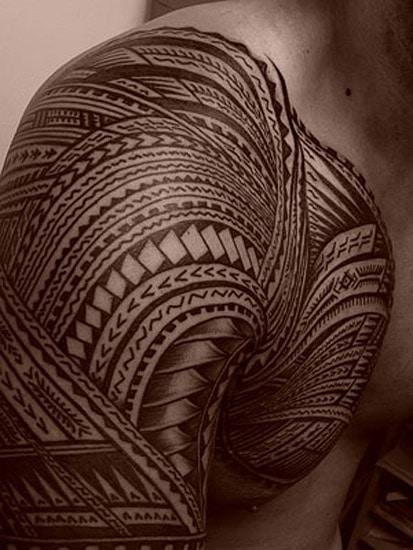 tattoo polynésien