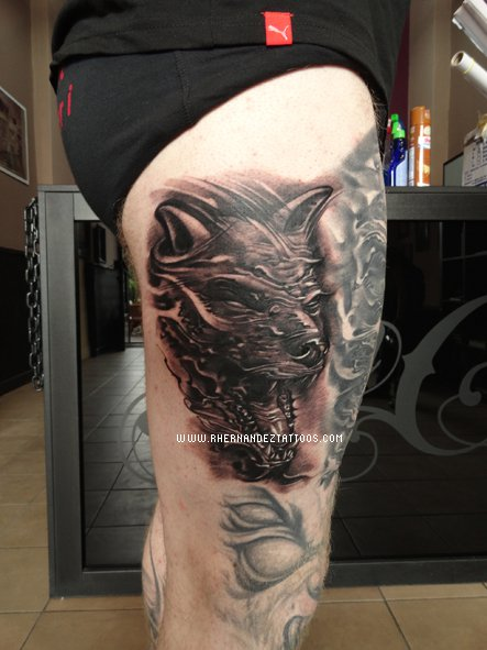 tatouage tête de chat horreur – inkage