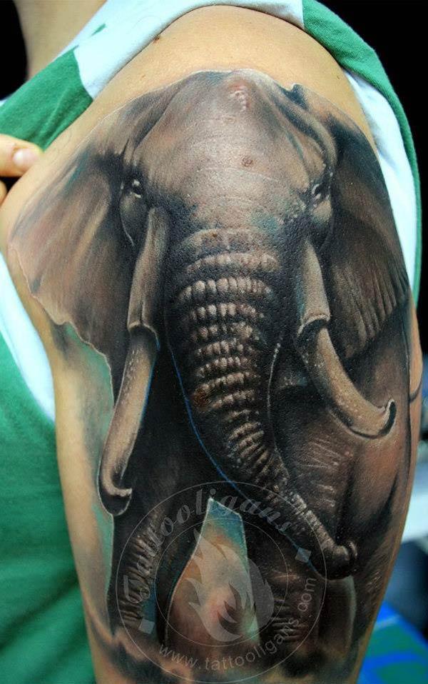 tatouage éléphant – inkage