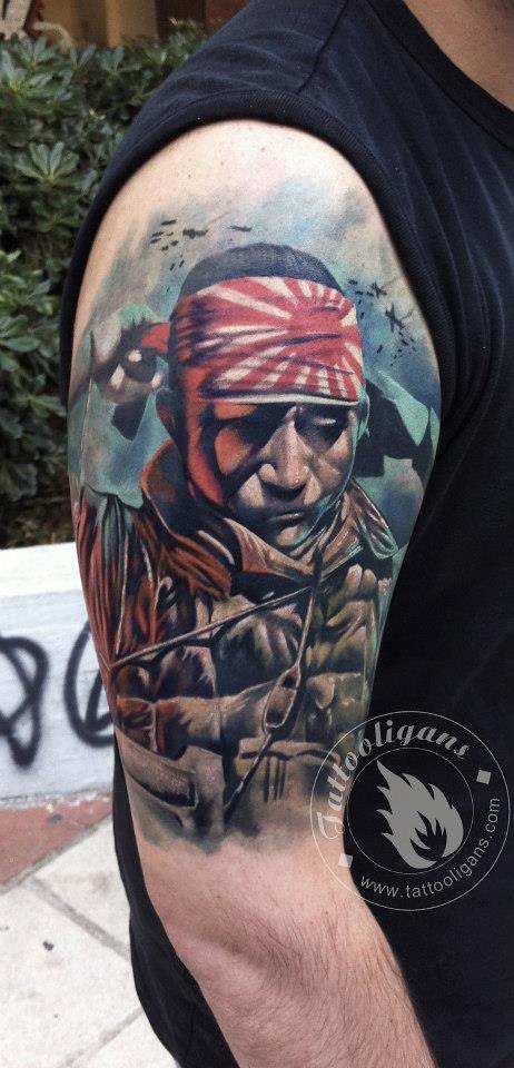 tatouage militaire japonais – inkage