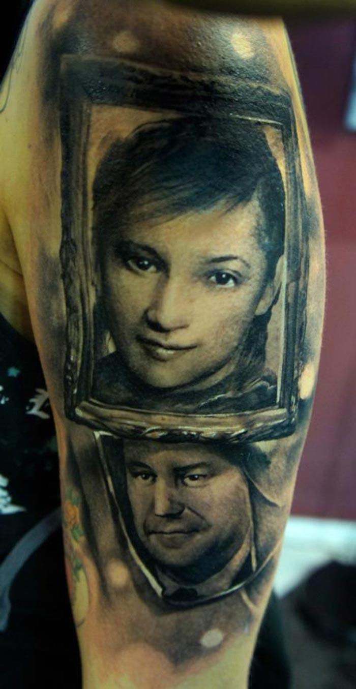 Les princesses disney version tattoo inkage - Tatouage a deux ...