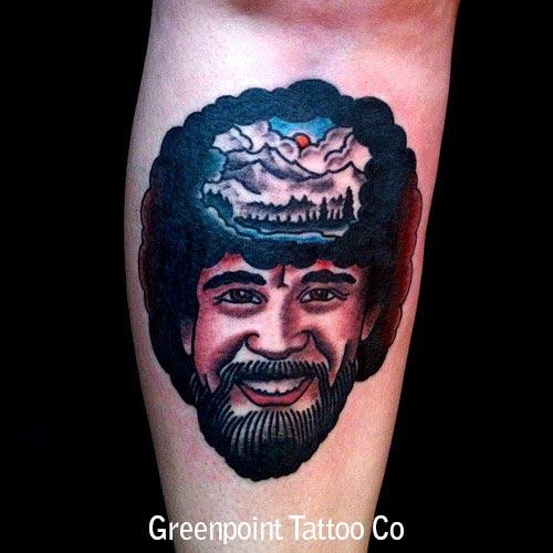 tatouage old school visage homme inkage. Black Bedroom Furniture Sets. Home Design Ideas