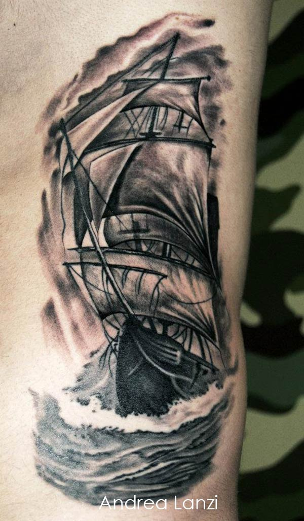 bateau pirate tattoos page tattoo. Black Bedroom Furniture Sets. Home Design Ideas