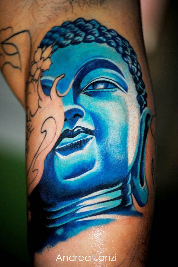 tatouage bouddha bleur inkage. Black Bedroom Furniture Sets. Home Design Ideas