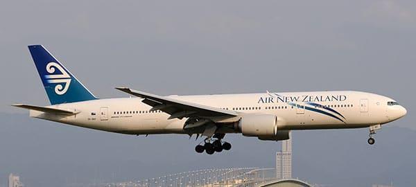 Un avion de la compagnie
