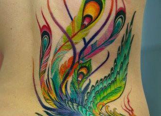 tatouage japonais dragon et fleur de lotus inkage. Black Bedroom Furniture Sets. Home Design Ideas