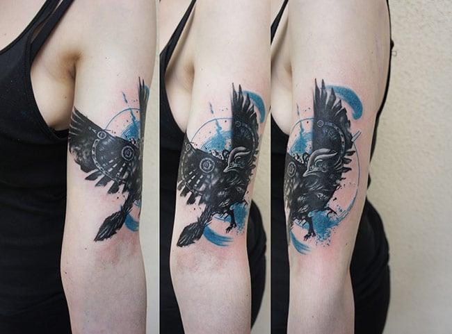 4 tatouage miki bold