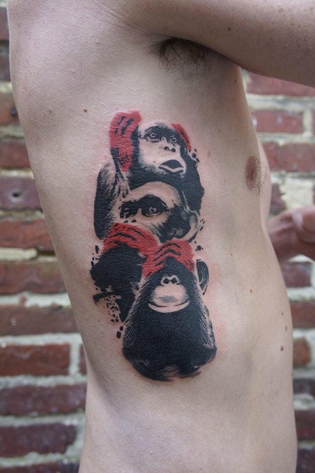 5 tatouage miki bold