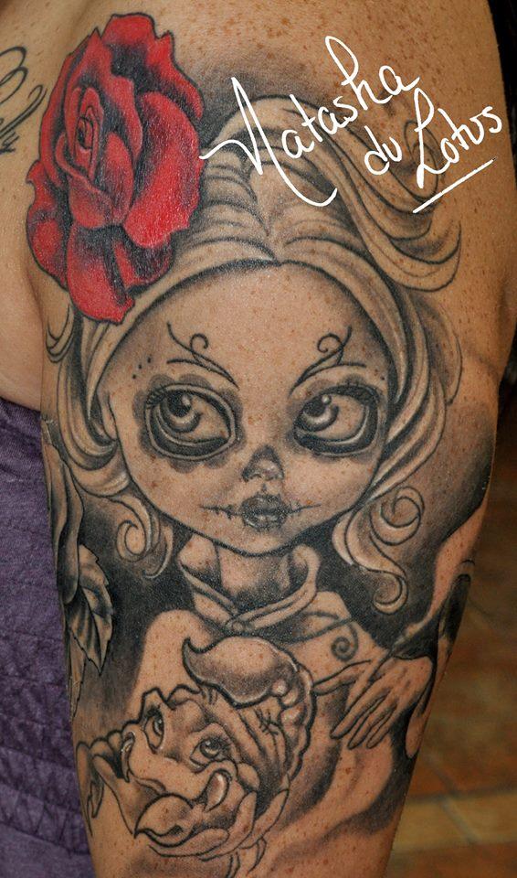 tatouage Natasha lotus noir (5)