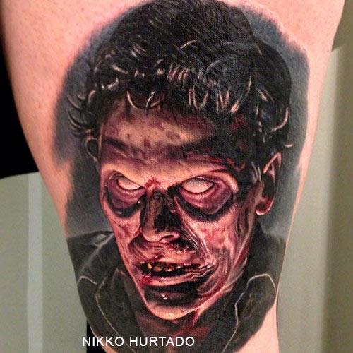Tatouage Zombie Par Nikko Hurtado Inkage