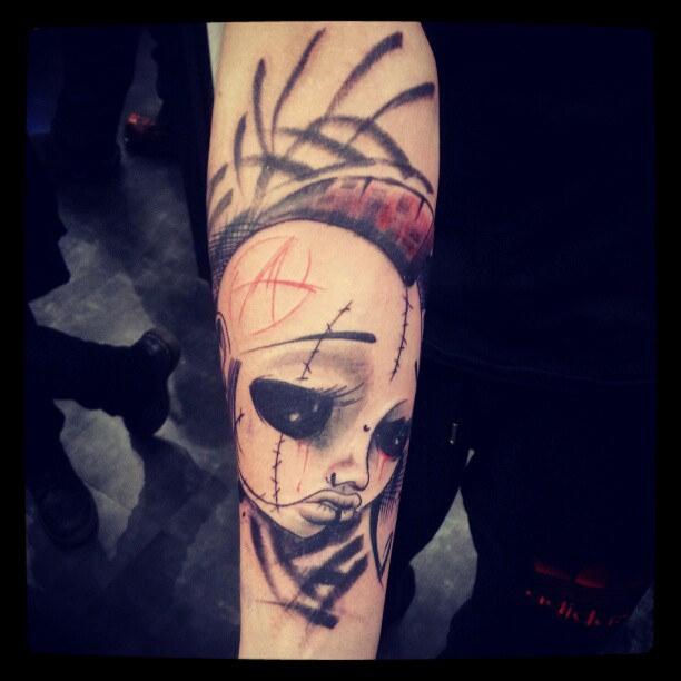tatouage par gribouille (5)
