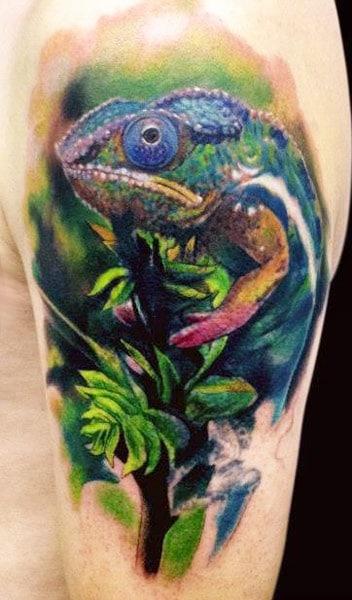 Tatouage camlon tattoo 02 Inkage