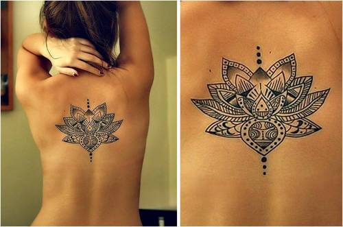 Tatouage Fleur De Lotus 09 Inkage