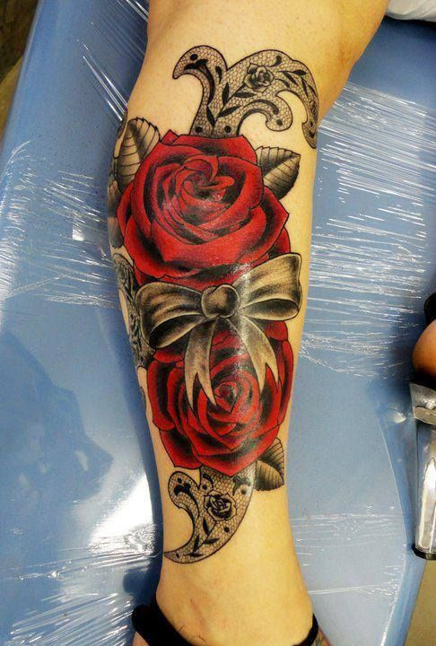 tatouage fleur rose tattoo 01 inkage. Black Bedroom Furniture Sets. Home Design Ideas