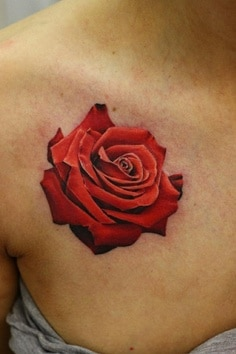 Tatouage Fleur Rose Tattoo 10 Inkage