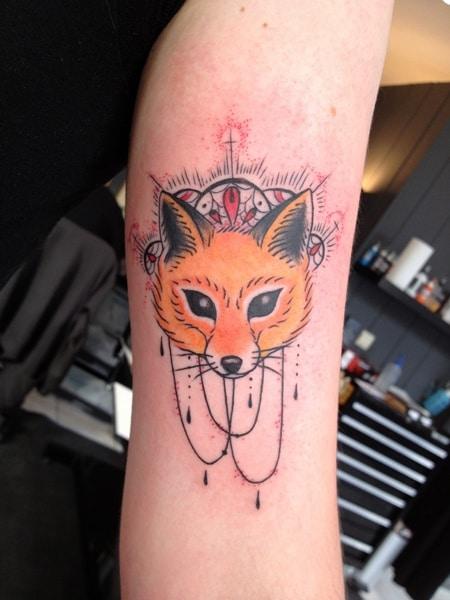 Tatouage Renard Tattoo 38 Inkage