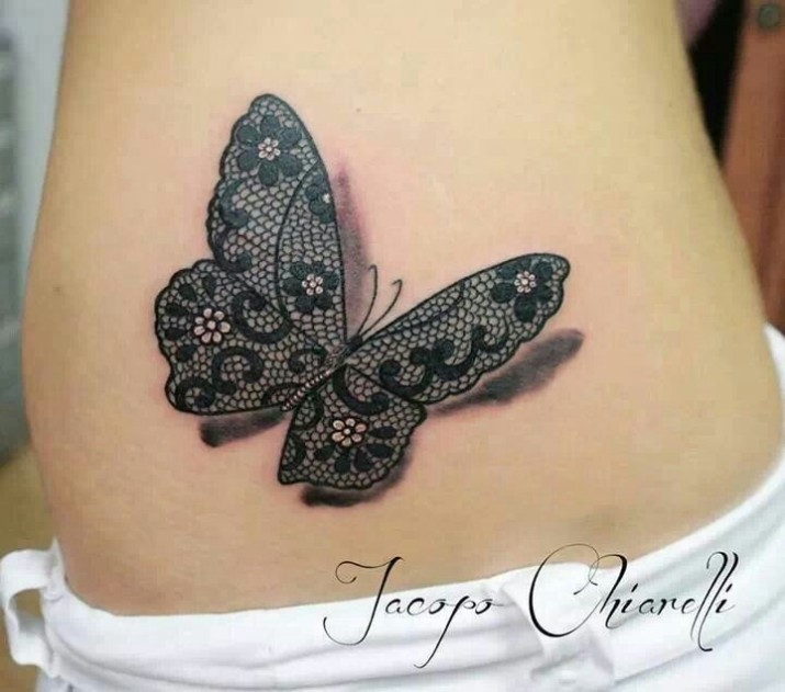Tatouage papillon tattoo 16 inkage for Paillon d ombrage