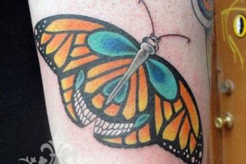 Tatouage carpe koi 53 inkage for Koi papillon