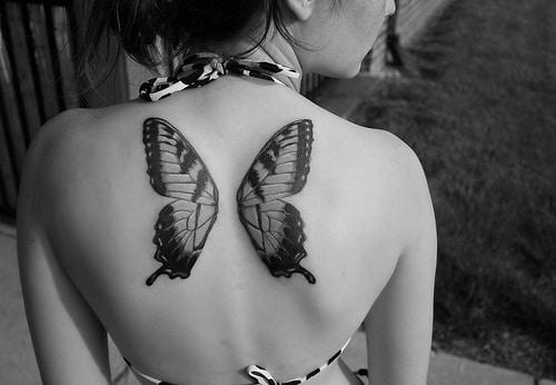 Pin Tatouage Tattoo Papillon 21 On Pinterest