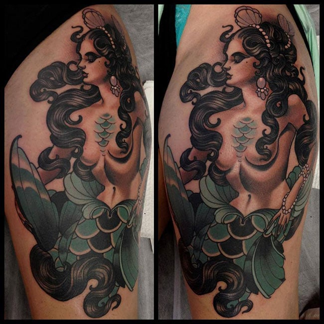 Les tatouages de Emily rose Murray  (1)