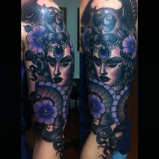 Les tatouages de Emily rose Murray  (2)