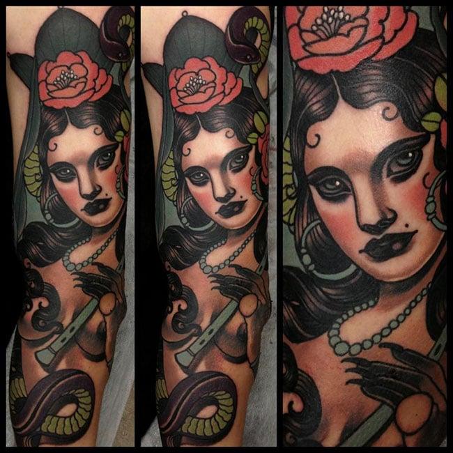 Les tatouages de Emily rose Murray  (3)