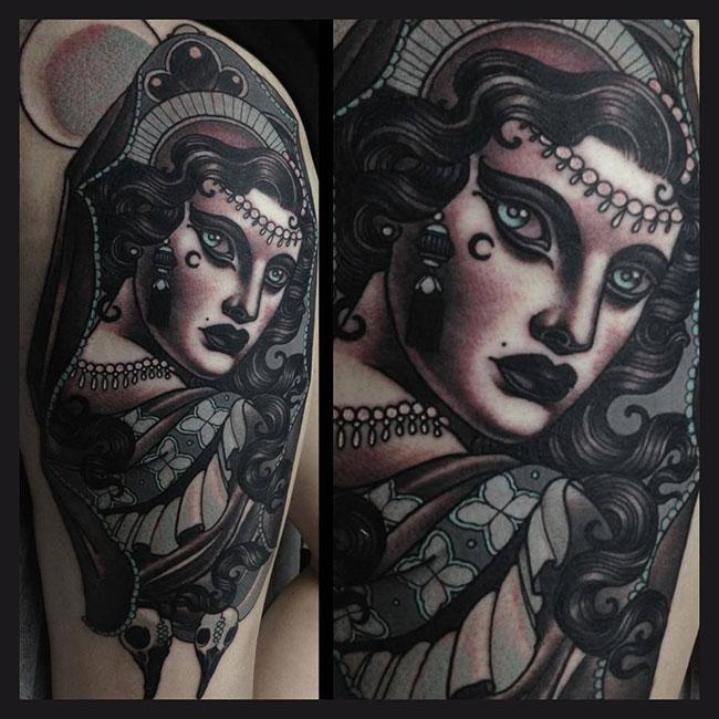 Les tatouages de Emily rose Murray  (5)